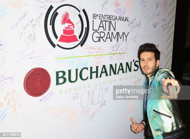 Sebastián Yatra attends the gift lounge during the 18th annual Latin Grammy Awards at MGM Grand Garden Arena on November 15, 2017 in Las Vegas,...