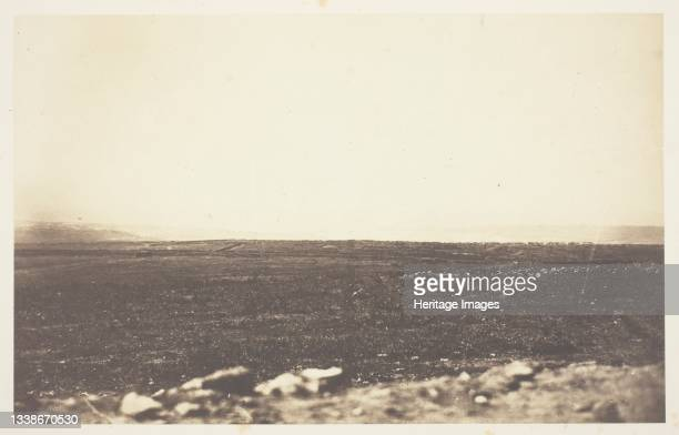 Sebastopol, from the Redoubt des Anglais, 1855. A work made of salted paper print, from the album 'photographic pictures of the seat of war in the...