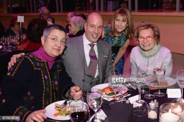 Sebnem Kour Fincanci Anthony Romero Donna McKay and Shelby White attend the PHR 2017 Gala at Jazz at Lincoln Center on April 18 2017 in New York City
