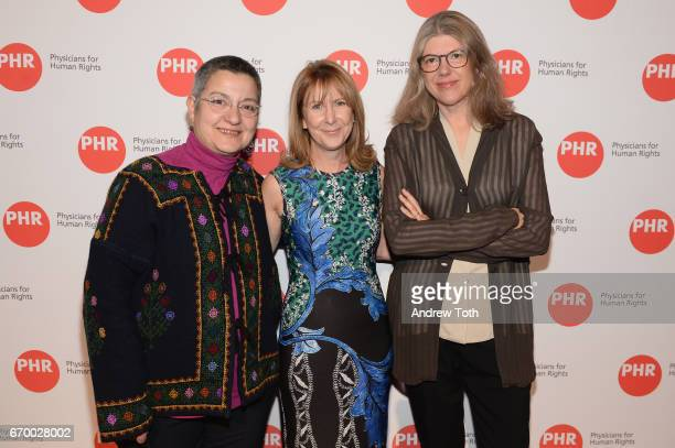 Sebnem Kour Fincanci Donna McKay and Sigrid Rausing attend the PHR 2017 Gala at Jazz at Lincoln Center on April 18 2017 in New York City