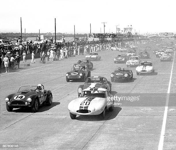 Sebring Hours Race Start In Florida No Jo Schlesserphil Hills Picture Id S X on Nascar Daytona Dan Gurney 12