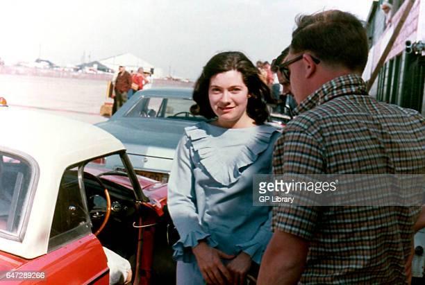 Sebring Christabel in the pits at Carlisle 1963