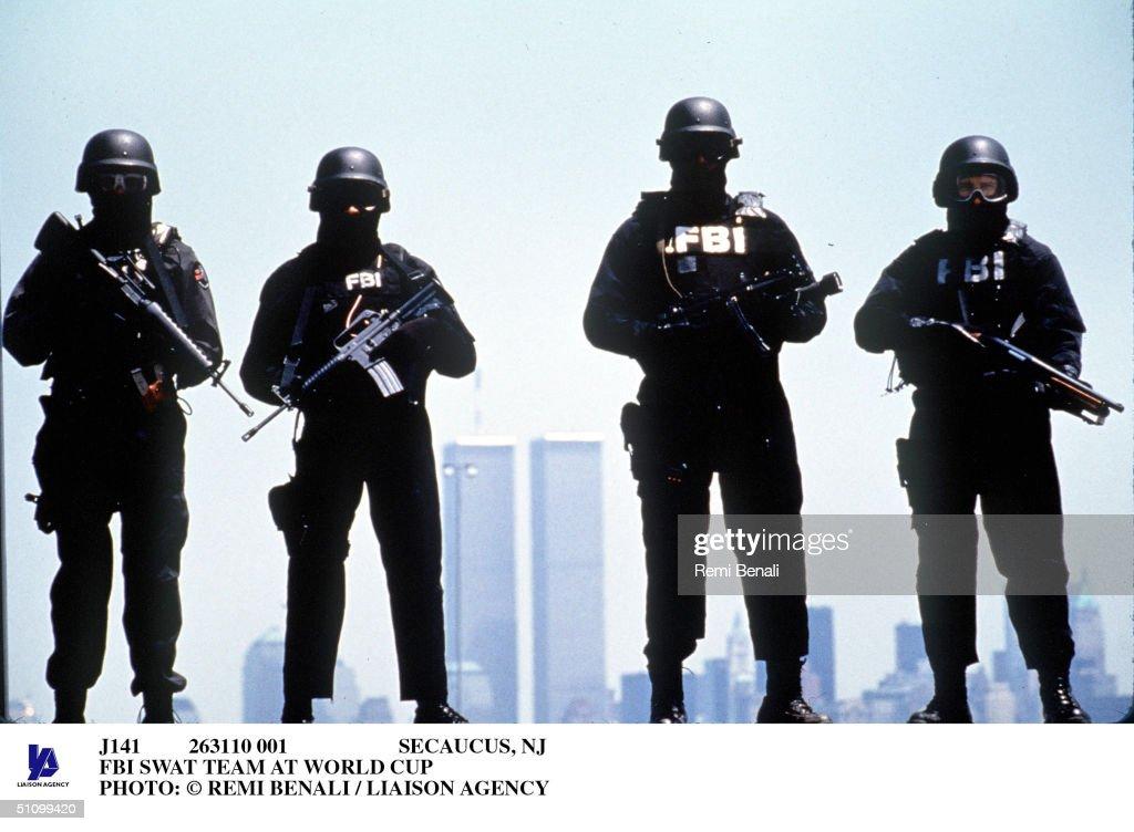 Secaucus Nj FBI Swat Team At World Cup Photo: Remi Benali / Liaison Agency : News Photo