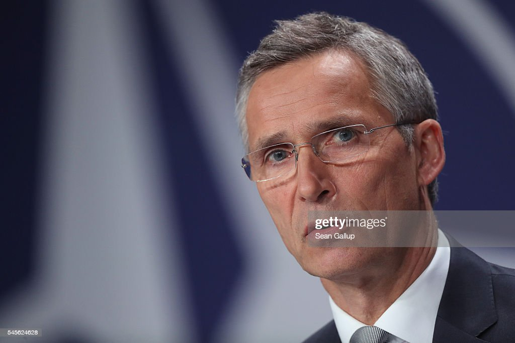 NATO Holds Warsaw Summit : News Photo