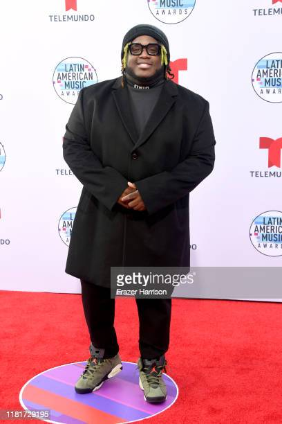 Sech attends the 2019 Latin American Music Awards at Dolby Theatre on October 17 2019 in Hollywood California