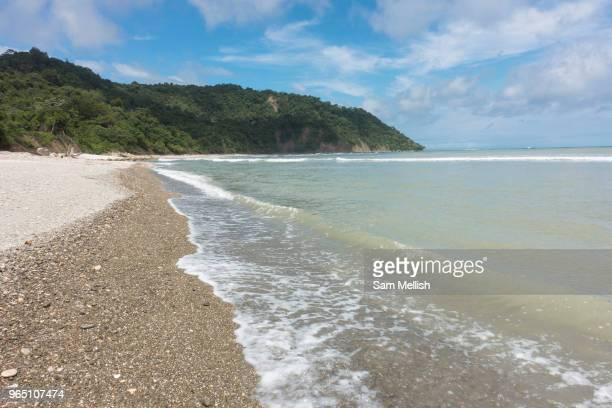Secluded beach in the Curú Wildlife Reserve on the Nicoya Peninsula on the 4th November 2016 in Costa Rica, Central America. The Curú Wildlife...