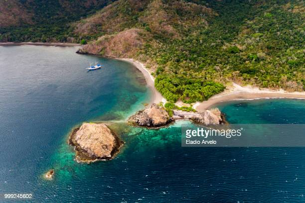 secluded paradise - eladio arvelo stock pictures, royalty-free photos & images