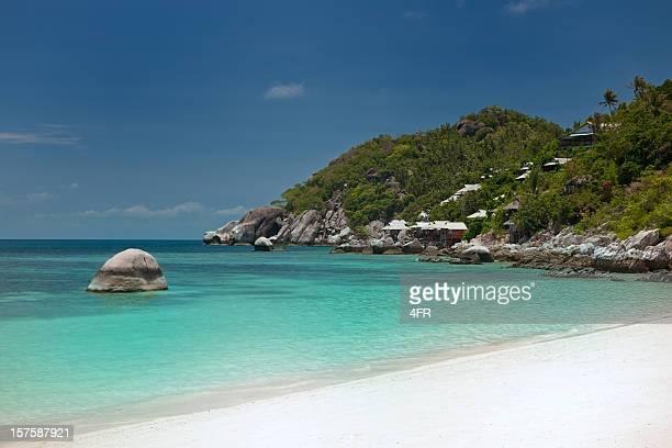 静かな楽園のトロピカルビーチ、シャーク湾、タオ XXXL (タイ)