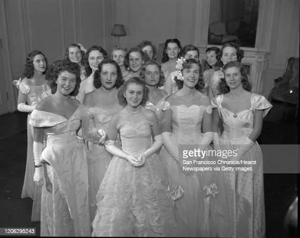 Second 1946 Debutante Cotillion Ball, December 21 1946