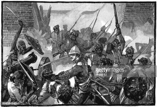 Second AngloAfghan War Attack on the British Residency Cabul and the massacre of its occupants including the Resident Sir Louis Cavagnari 3 September...