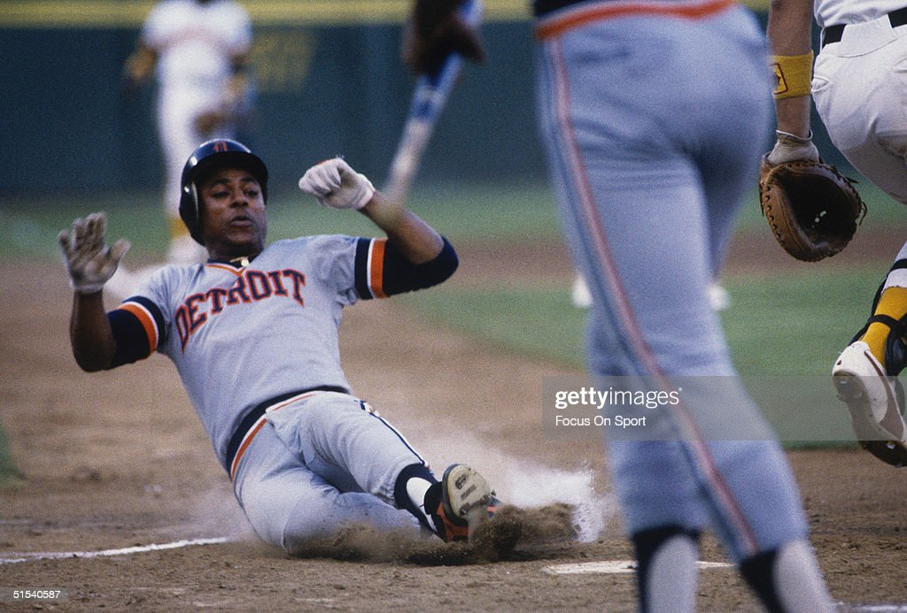 1984 World Series : News Photo