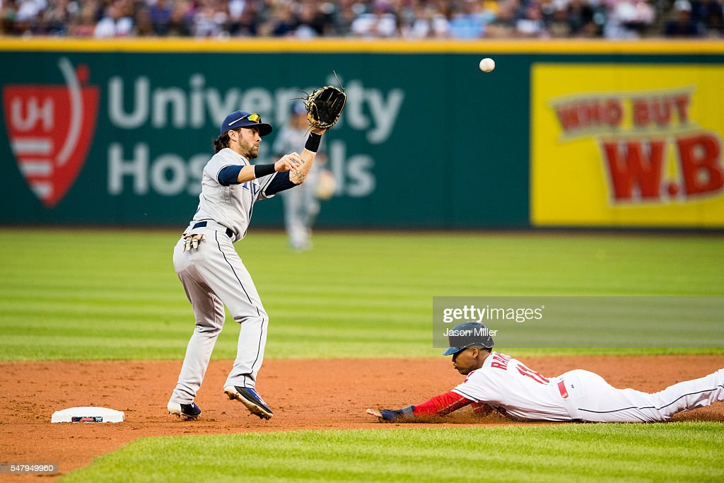 Matt Andriese of the Tampa Bay Rays pitches during the