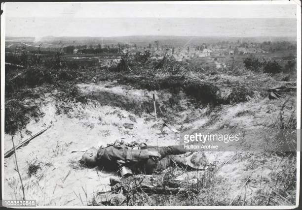 Second Battle of The Marne 1918 Marne