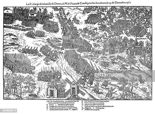 Second charge at the Battle of Dreux French Religious Wars 19 December 1562 The outcome of the battle was indecisive although notable for the fact...