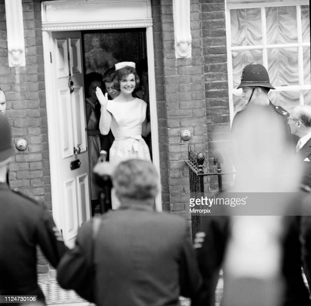 Second day of the private visit to London of American President John F Kennedy and the First Lady Jacqueline Kennedy for the christening ceremony of...