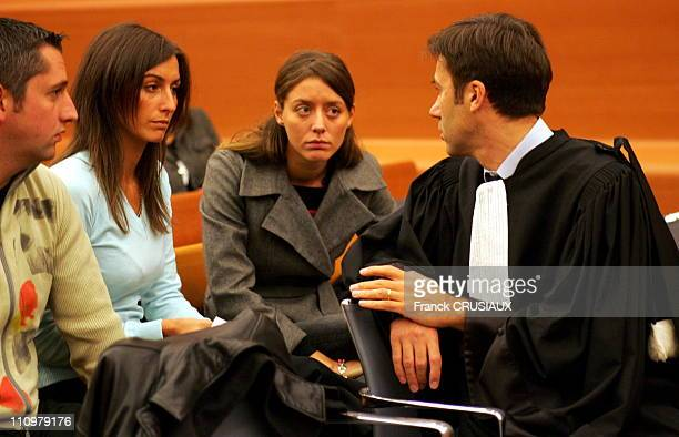 Second day of trial at the Assizes of Isere and the former rugby captain of the French rugby team Marc Cecillon accused of murdering his wife Chantal...