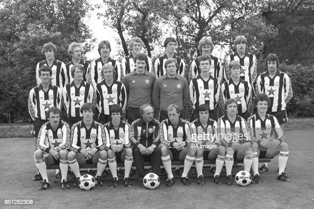 Second Division Newcastle United team photo for the 198081 season Steve Carney John Connolly Bobby Shinton Stuart Boam Bill Rafferty Kenny Mitchell...