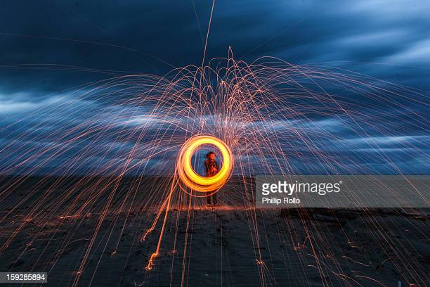CONTENT] A 30 second exposure of steel wool photography in Nelson New Zealand Steel wool photography involves lighting steel wool on fire putting it...