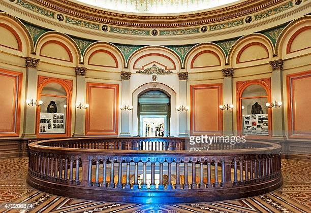 second floor california state capitol - rotunda stock pictures, royalty-free photos & images