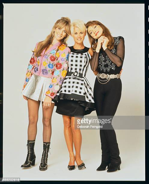 Second generation country singers Carlene Carter Lorrie Morgan and Pam Tillis