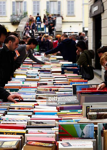 Second hand books. Color Image