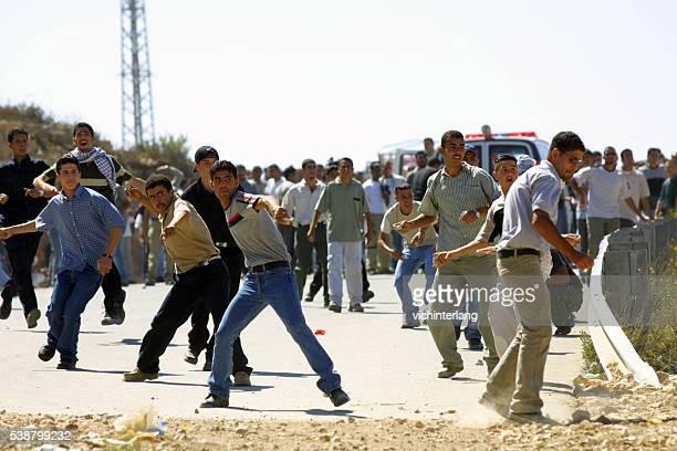 segunda intifada primeiro aniversário, ramallah, de outubro de 2001) - cultura palestina - fotografias e filmes do acervo