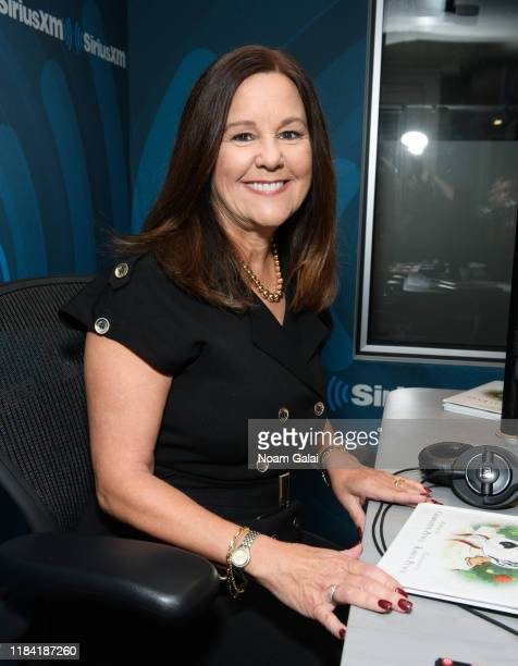 Second Lady of the United States Karen Pence visits the SiriusXM Studios on October 29, 2019 in New York City.