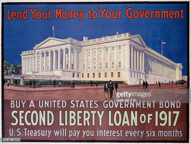 Second Liberty Loan of 1917 Poster