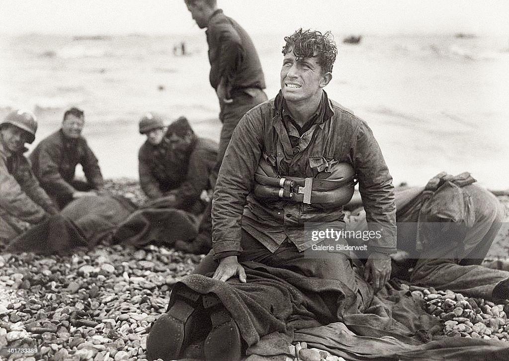 Omaha Beach Rescue : News Photo