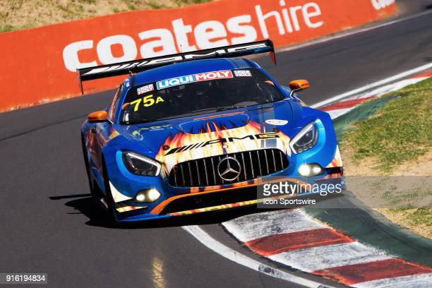 Second place car No 75 MercedesAMG Team SunEnergy1 Racing Mercedes AMG GT3 driven by Kenny Habul / Tristan Vautier / Jamie Whincup / Raffaele...