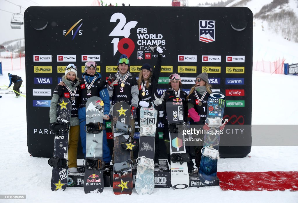 UT: FIS Snowboard World Championships - Men's and Ladies' Slopestyle