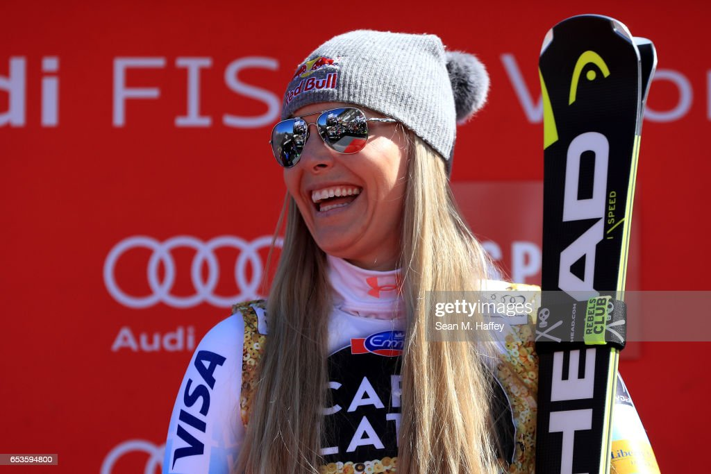 2017 Audi FIS Ski World Cup Finals - Ladies' & Mens' Downhill : News Photo