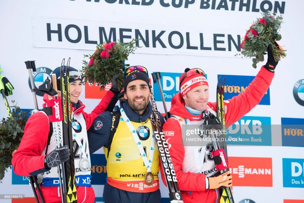 NORWAY-BIATHLON-WORLD-CUP : News Photo