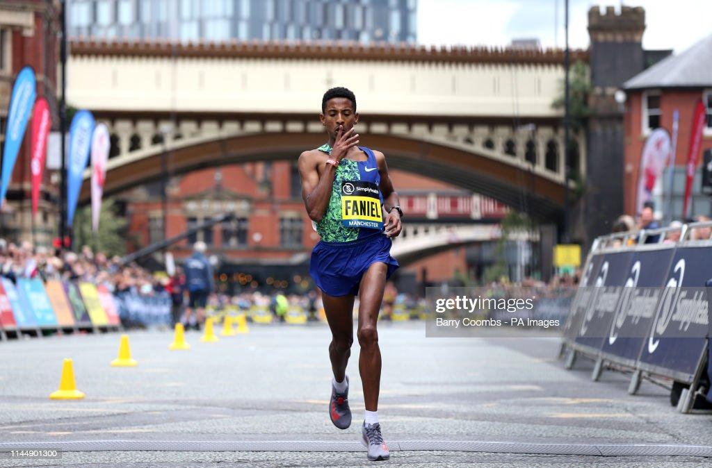 2019 Simply Health Manchester Run : Foto di attualità