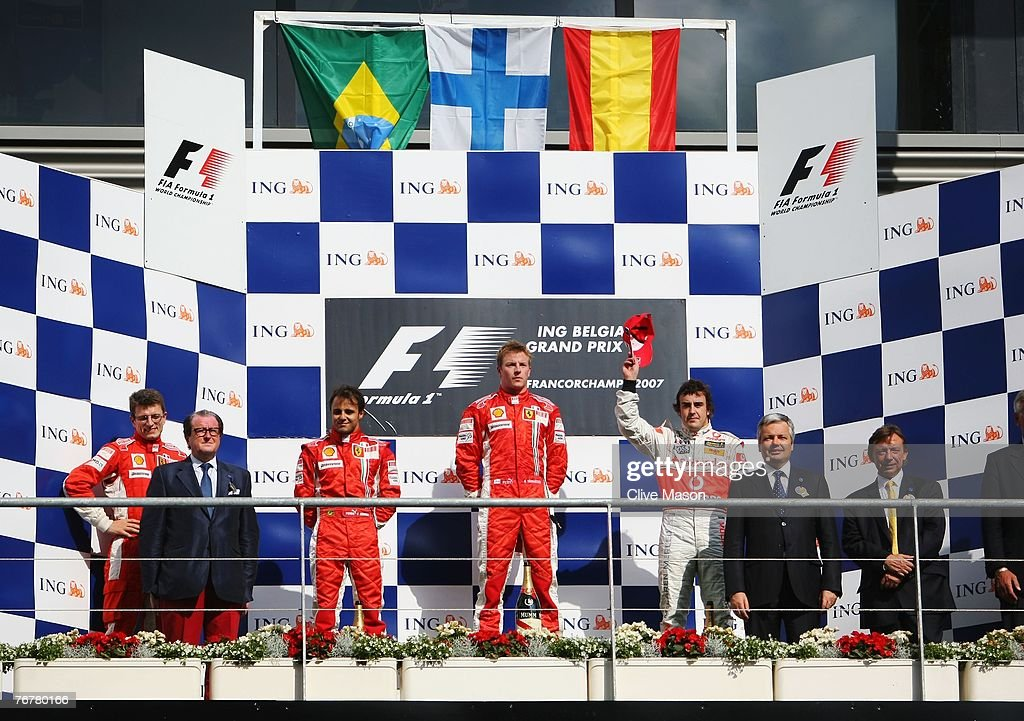 Belgian Formula One Grand Prix: Race : News Photo