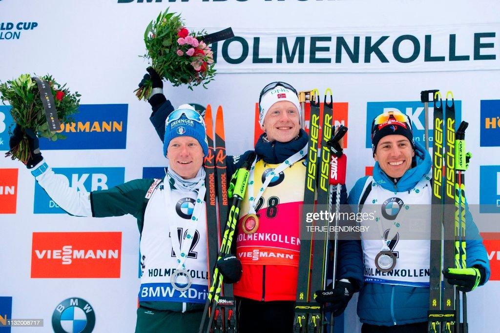 NOR: IBU Biathlon World Cup - Men's 10km Sprint