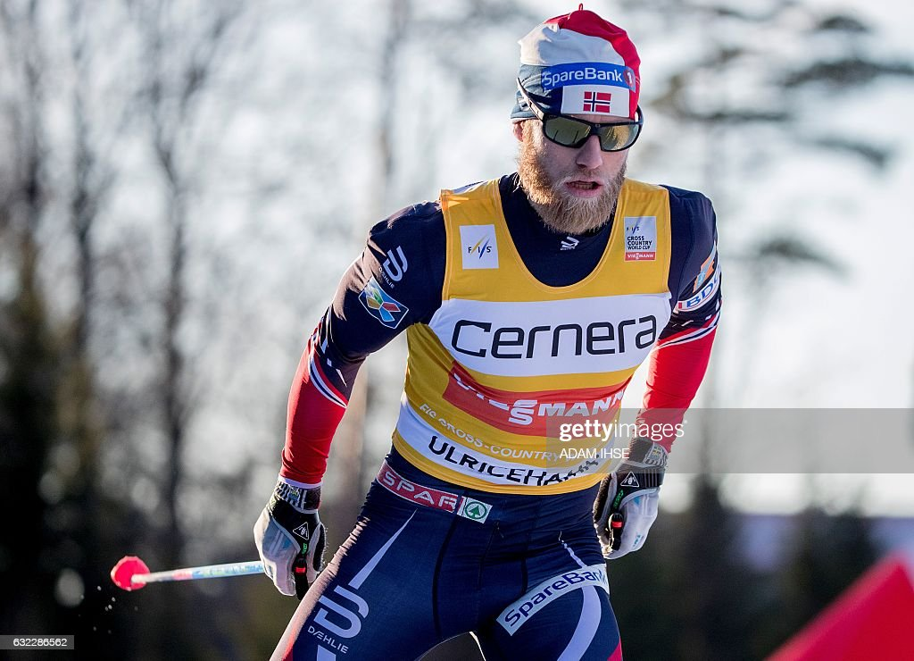 SKI-WORLD-CUP-SWE-ULRICEHAMN : News Photo