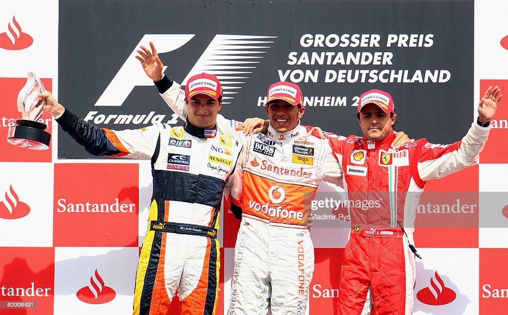 German Formula One Grand Prix: Race : News Photo