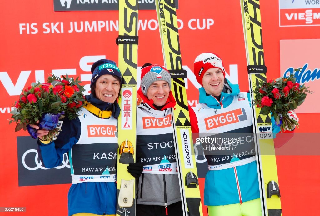 NORWAY-FIS-SKI-JUMPING : News Photo