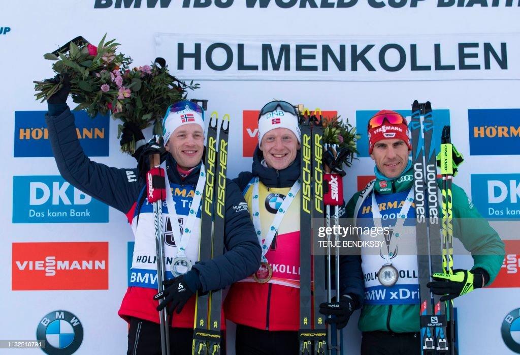 NOR: IBU Biathlon World Cup - Pursuit Competition