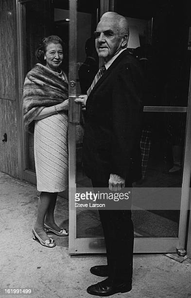 NOV 5 1970 NOV 6 1970 Second Production Opens at Bonfils Theatre Arriving for opening night production of Sheep on the Runway Thursday at Bonfils...