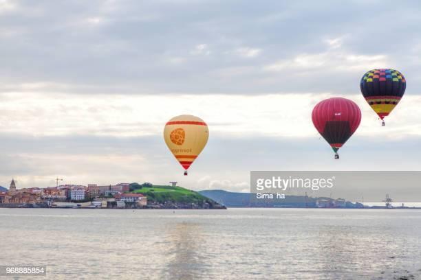 Segunda regata de globos de Gijón