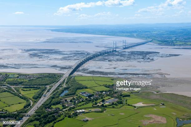 Second Severn Crossing Gloucestershire 2015 Artist Damian Grady
