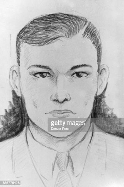 Second Suspect This composite sketch by a Denver police artist based on descriptions furnished by witnesses at the Denver Hilton Hotel is the second...