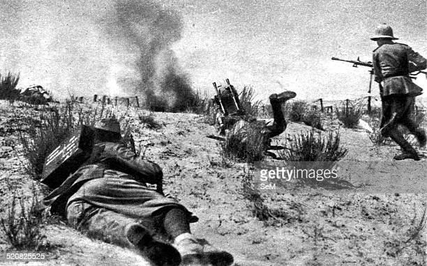 Second World War North African Campaign 1940 Italian offensive