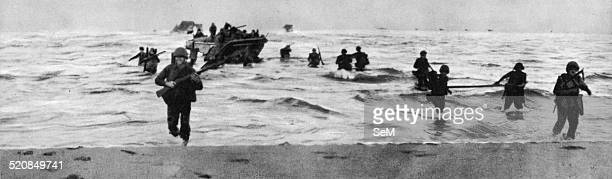 Second World War1943 Allied invasion of Italy Operation Avalanche Salerno 1943 Troops landed during the invasion of mainland Italy at Salerno...