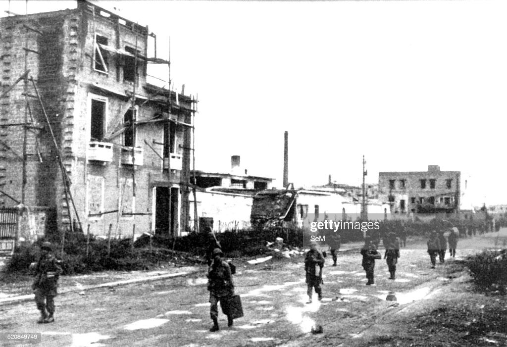 WWII in Italy 1943 Salerno 1943 : News Photo