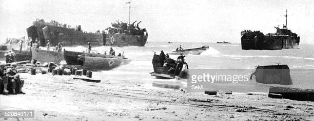 Second World WarItaly 1943 July 1943July 9 1943The Allied landing on the beaches of Gela