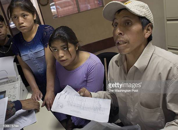 USE secondary or insideSLUG FO/GUATEMALA 7 DATE Neg number 183332 PHOTOGRAPHER SARAH L VOISIN Quetzaltenango GUATEMALA Our Races Imigrant Shelter in...