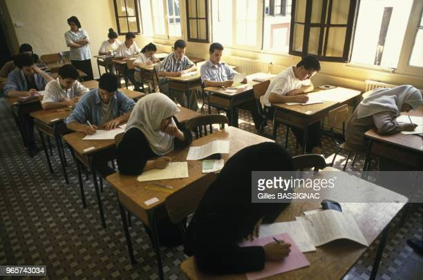 Secondary School Examination At Lycee Barberousse Of Algiers June 23 1990